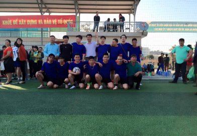 Trung tâm y tế Ba Chẽ tham gia giải bóng đá do sở y tế tổ chức