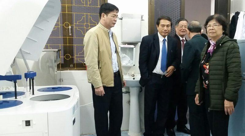 Các Đồng chí Nguyên lãnh đạo Sở Y tế Quảng Ninh về thăm Trung tâm Y tế Ba Chẽ