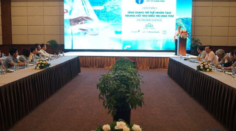 Sở Y tế Quảng Ninh tổ chức Hội thảo về giải pháp ứng dụng Trí tuệ nhân tạo trong hỗ trợ chẩn đoán, điều trị bệnh ung thư