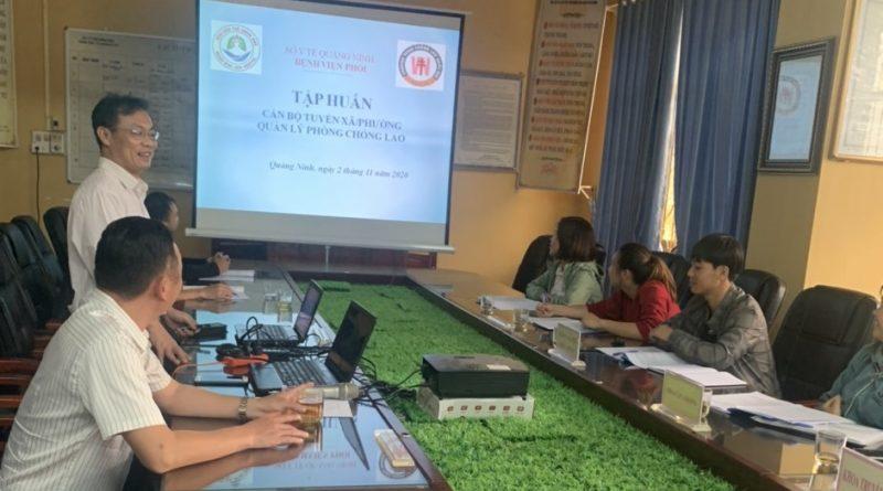 Tập huấn chương trình phòng chống bệnh Lao cho Cán bộ TTYT  và Trạm Y tế các xã, thị trấn năm 2020