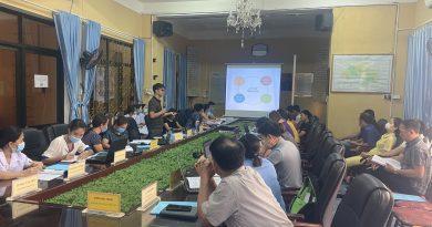 Trung tâm Y tế huyện Ba Chẽ Tập huấn Tiêm chủng mở rộng năm 2021